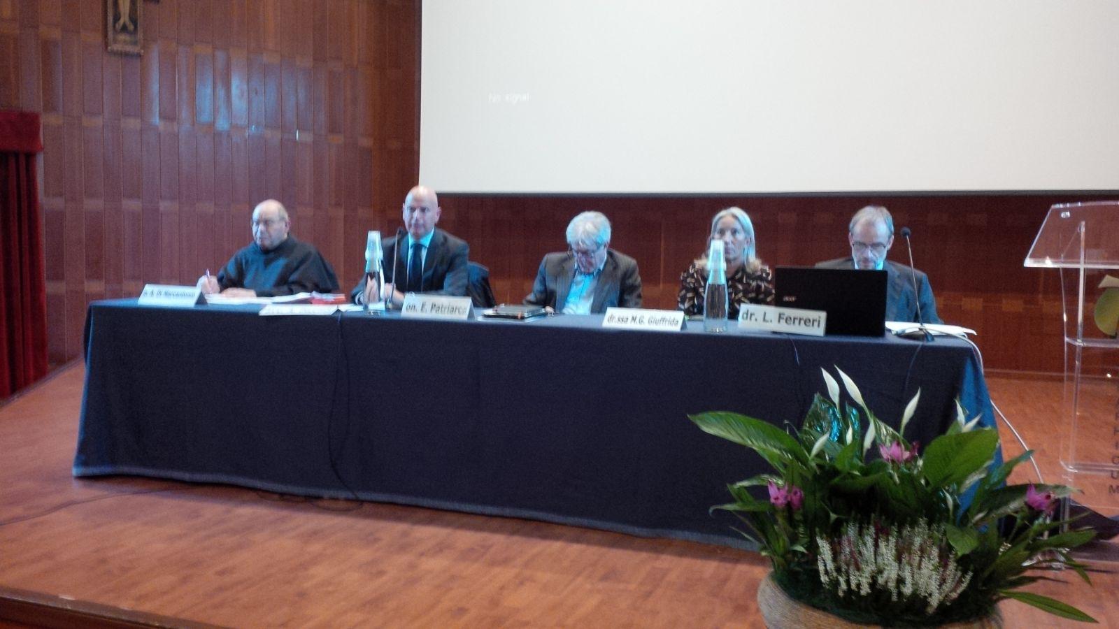 P. Antonio i alcuni consulenti CNEC
