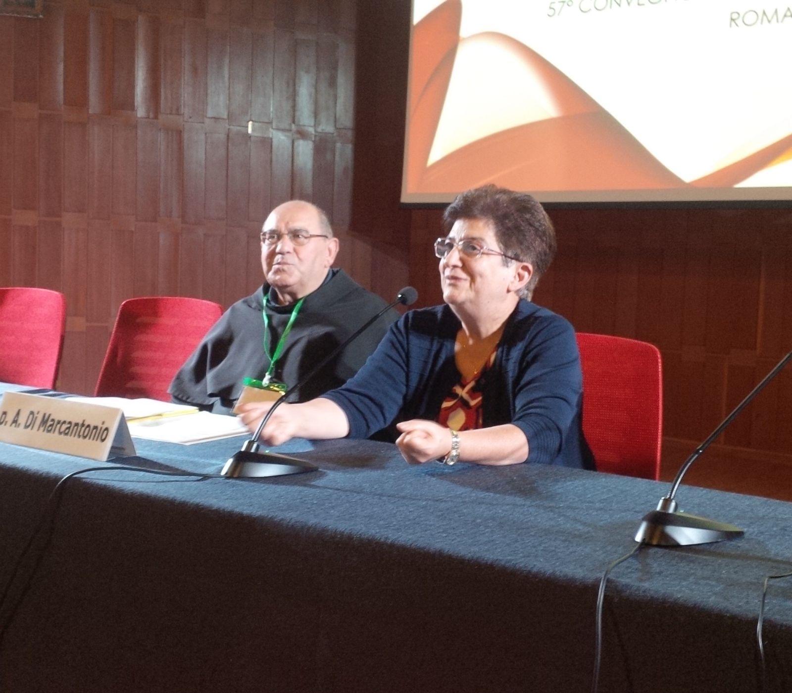 P. Antonio e la Vice Presidente CNEC Dott.ssa Nuccia Garro